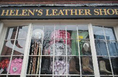 Helen's Leather Shop, Charles St., Boston, Ma.