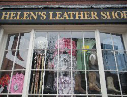 Helen's Leather Shop, Beacon Hill, Boston, Ma.