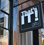 That's It! Gifts, Charles St., Beacon Hill, Boston, Ma.