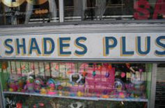 Shades Plus, Thayer St., East Side, Providence, R.I.