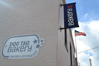 Dog Tag Bakery, Grace St. off lower Wisconsin Ave., Georgetown, D.C.