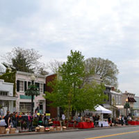French Market, April 2014, Wisconsin Ave., Book Hill, Georgetown