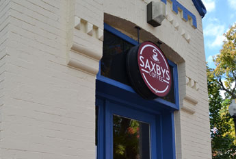 Saxby's Coffee, O Street, Georgetown, D.C.