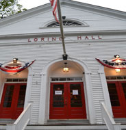 Patriot Cinemas at Loring Hall, Main St., Downtown Hingham, Ma.