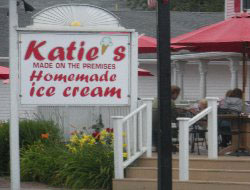Katie's Homemade Ice Cream,  Main St., Hyannis, Ma.