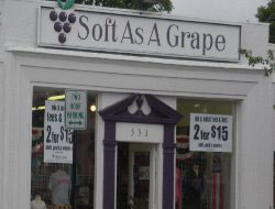 Soft As A Grape, Main St., Hyannis, Ma.
