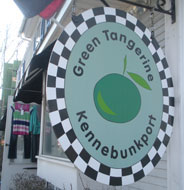 Green Tangerine, Kennebunkport, Maine