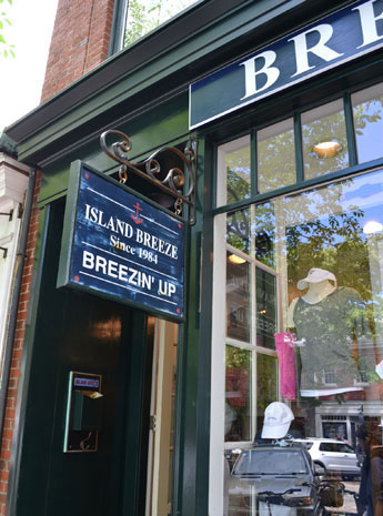 Breezin' Up, Main St., Nantucket, Ma.