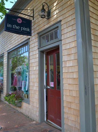 In the Pink, S. Water St., Nantucket, Ma.