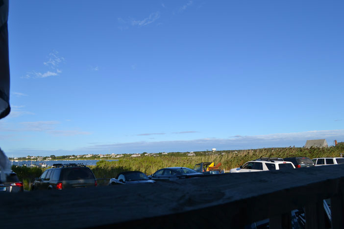 View from Sayle's Seafood Fish Market, Washington St. Ext., Nantucket, Ma.