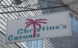 Christine's Casuals, Pier Village Marketplace, Narragansett Pier, R.I.