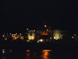 The Towers at night, Narragansett Pier, Narragansett, R.I.