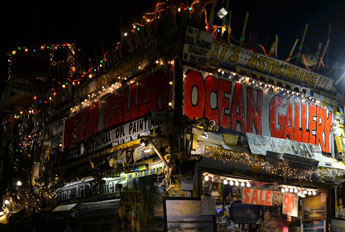 Ocean Gallery, boardwalk in Ocean City, Md.