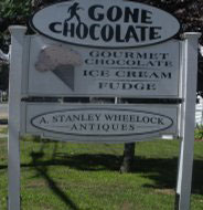 Gone Chocolate Shop, Osterville, Ma.