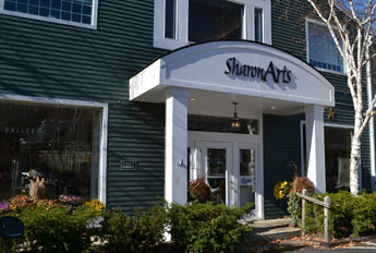 Sharon Arts Downtown, Depot St., Peterborough, N.H.