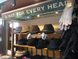 A Hat for Every Head, Quincy Market North Canopy, Faneuil Hall Marketplace, Boston, Ma.