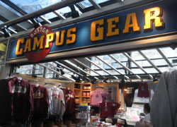 Boston Campus Gear, Quincy Market South Canopy, Faneuil Hall Marketplace, Boston, Ma.