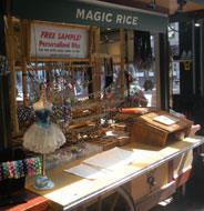 Magic Rice, Quincy Market South Canopy, Faneuil Hall Marketplace, Boston, Ma.