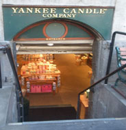 Yankee Candle, Quincy Market Lower Level, Faneuil Hall Marketplace, Boston, Ma.