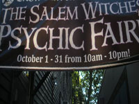 Annual Psychic Fair & Witchcraft Expo, Essex St., Salem, Ma.