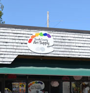South County Art Supply, Robinson St., Wakefield, R.I.