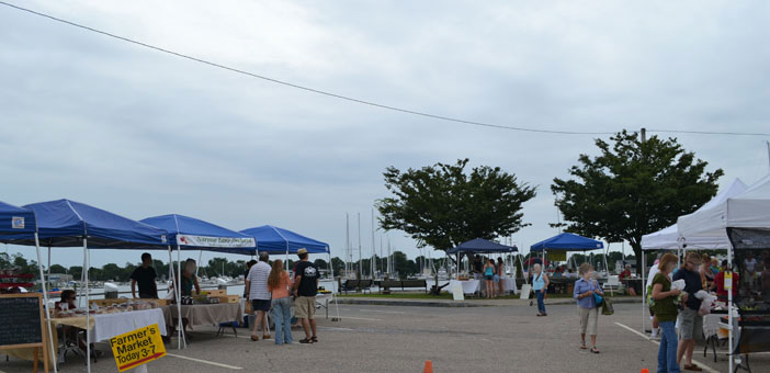 Wickford Farmers Market, August, 2013