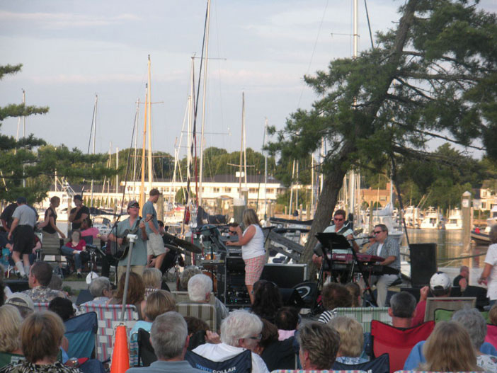 Summer Concert Series, Wickford, R.I.