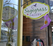 Sagegrass Gallery, Main St., Bar Harbor, Maine