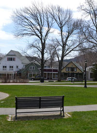 Village Green, Downtown Bar Harbor, Maine