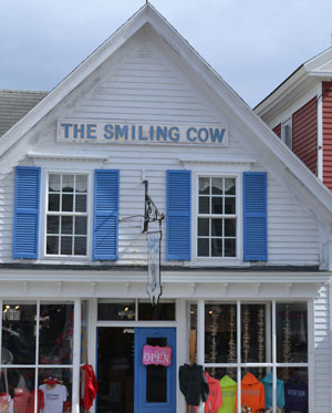 The Smiling Cow, Commercial St., Boothbay Harbor, Maine