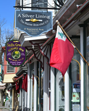 Townsend Ave. shops, Boothbay Harbor, Maine