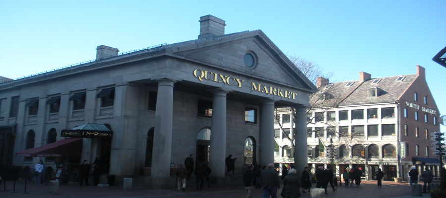 Quincy Market, Boston, Ma.