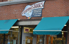 Everyone's Books, Elliot St., Downtown Brattleboro, Vt.