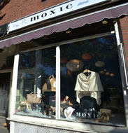 Moxie, boutique on Charles St., Beacon Hill, Boston, Ma.