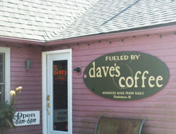 Dave's Coffee, Old Post Rd., Route 1, Charlestown, R.I.