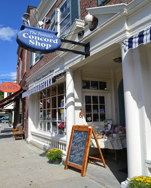 The Famous Concord Shop (renamed Concord Cookware in 2013), Concord, Ma.