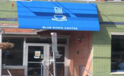 Blue State Coffee, Thayer St., Providence