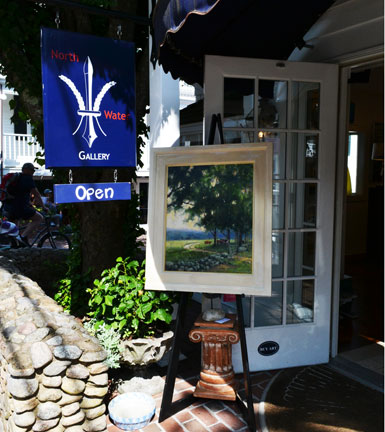 North Water Gallery, North Water St., Edgartown