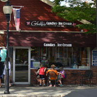 Ghefli's Candies & Ice Cream, Main St., Falmouth, Ma.