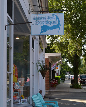 Shining Sea Boutique, Main St., Falmouth, Ma.