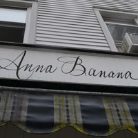 Anna Banana, Sound Beach Ave., Old Greenwich, Ct.