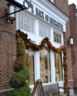 Back 40 Mercantile, Sound Beach Ave., Old Greenwich, Ct.