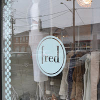 Fred Boutique, Sound Beach Ave., Old Greenwich, Ct.