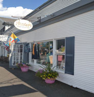 Hunter's Simply Resort Wear, Main St., Rt. 28, Harwich Port, Ma.