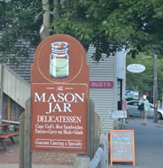 Mason Jar Delicatessen, Main St., Rt. 28, Harwich Port, Ma.