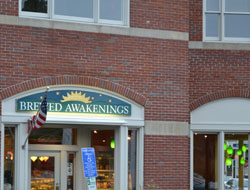 Brewed Awakenings, Main St., Downtown Hingham, Ma.