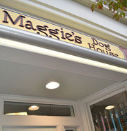 Maggie's Dog House, Main St., Downtown Hingham, Ma.