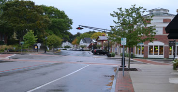 Hingham Square, Main St., Downtown Hingham, Ma.