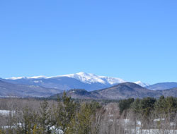 View of Mt. Washington from Intervale Visitor Center scenic overlook, Rt. 16/302, Intervale, N.H.