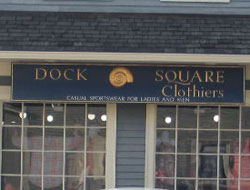 Dock Square Clothiers, Kennebunkport, Maine